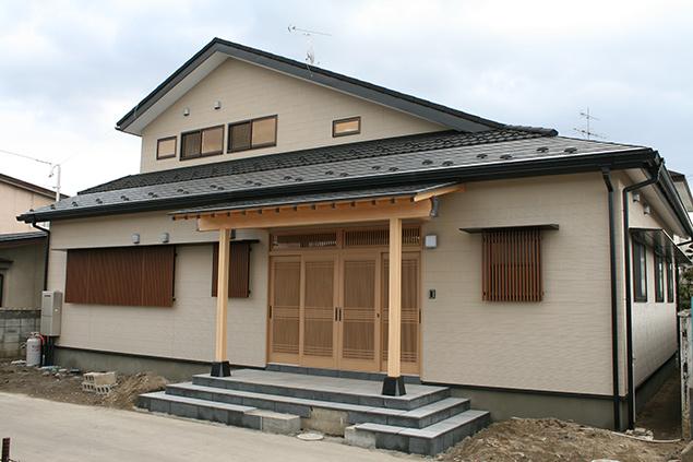 日本の伝統工法を活かした和風住宅